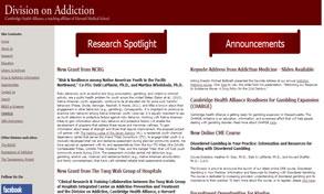 Harvard Medical School And Gambling Addiction